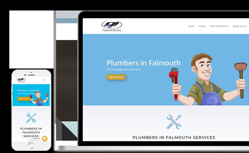 plumbers website design